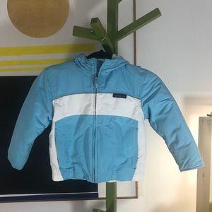 Lands' End kids' weatherproof jacket size 5-6
